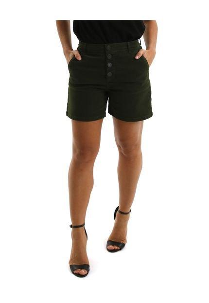 Equivoco Bermuda Jeans Equivoco Hoboken Verde jmLAm