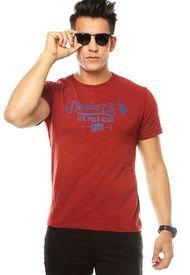 Camiseta Rojo Tomate US Polo Assn.