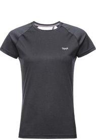 Polera Mujer Core Q-Dry Breathing T-Shirt Negro Lippi