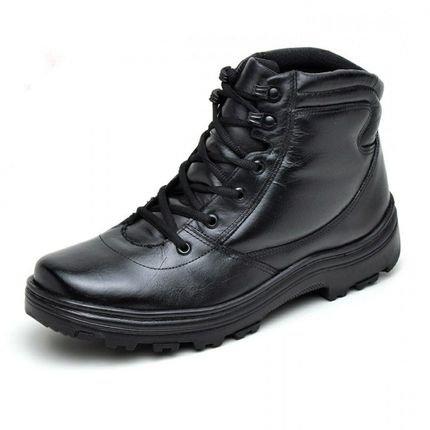 Atron Shoes Bota Atron Shoes Cadarço Preta d3b92