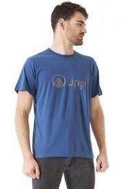 Polera Algodon Hombre Logo Lippi Azul Lippi
