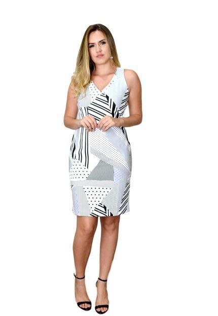 Energia Vestido Energia Fashion Off White oImeR