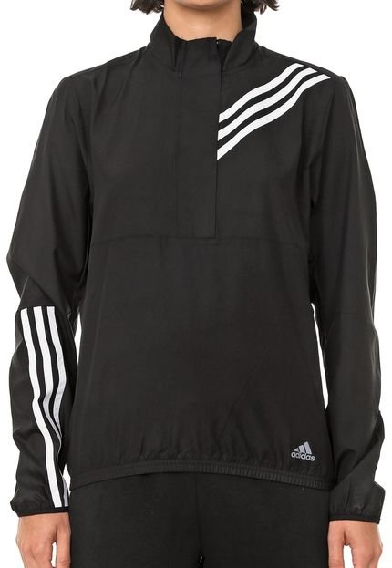 adidas Performance Jaqueta Corta Vento adidas Performance Own The Run Preta