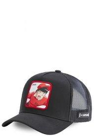 Jockey GENZO Trucker Ajustable Negro & Rojo CapsLab