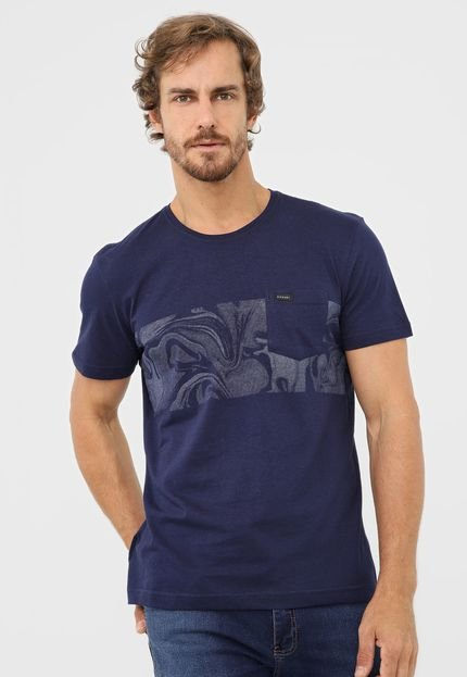 Camiseta Rip Curl Gabriel Medina Azul-Marinho