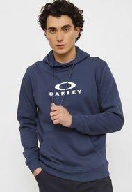 Polerón Oakley Po Hoodie Azul - Calce Regular