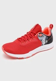 Zapatilla Deportiva UA Charged Focus Print-RED Rojo Under Armour