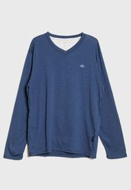 Pijama Palmers Jersey Print Azul - Calce Regular