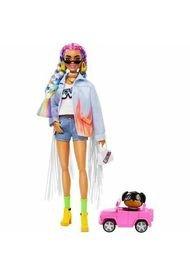 Barbie Fashionista, Extra Trenzas Arcoiris