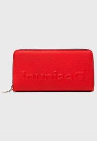 Billetera Rojo Desigual