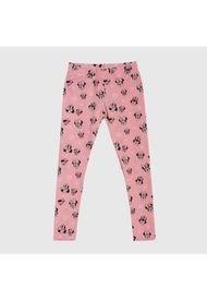 Calza Minnie Caras Rosado Disney