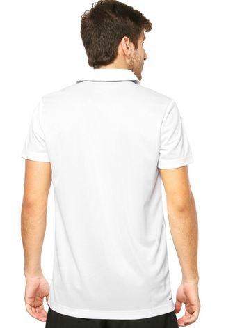 Camiseta Polo adidas Sequentials Tennis Branca
