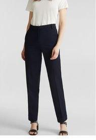 Pantalón Mujer Elástico  Azul Marino Esprit