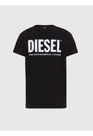 Polera T Sily Wx T Shirt Negro Diesel