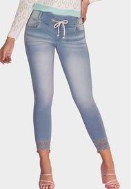 Jogger Levanta Cola Paraíso Azul Claro TYT Jeans