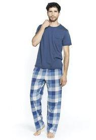 Pijama Francisco Azul Bbz Barbizon