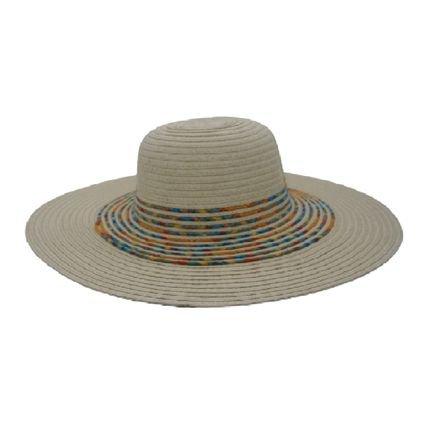 Chapeu Feminino Praia/Passeio Capelline Aruba Branco - Marca Allstate