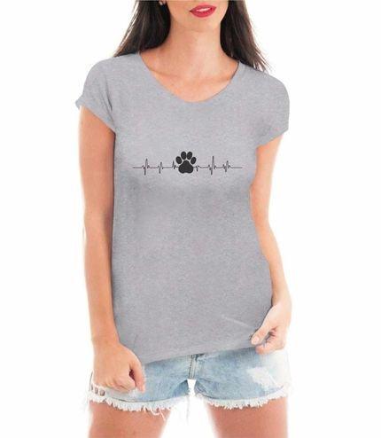Criativa Urbana Camiseta Criativa Urbana Loucas Por Pet Viciadas Lovers Blusa  Cinza cPdNm