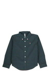 Camisa Cuadri Verde Hush Puppies Kids