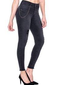 Jeans  Cores Negro  Best West Jeans