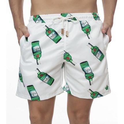 Short Masculino Estampado Tanqueray - Area Verde