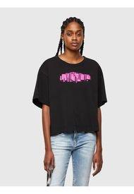 Polera T Bowless A1 T Shirt Negro Diesel