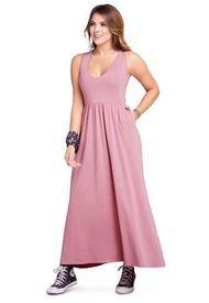 Vestido Para Mujer Palo Rosa Oscuro Atypical