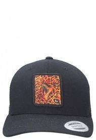 Jockey Trucker De Malla Cheeta Negro Panama Jack