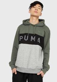 Polerón Puma Rotate Hoodie FL Multicolor - Calce Regular