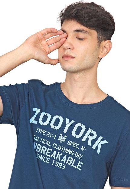 Camiseta Zoo York Hardcore Zy Azul-Marinho