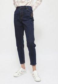 Jeans Desgiual DENIM OVERALL TROUSERS SEA CITY Azul - Calce Ajustado