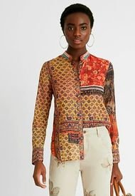 Camisa Desigual Multicolor - Calce Regular