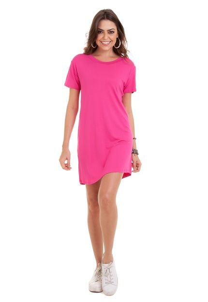 Manola Vestido Manola Semi Rodado Pink
