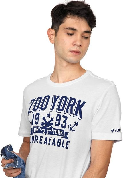 Camiseta Zoo York Anchors Branca