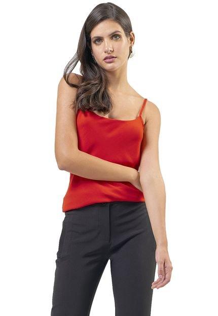 MX Fashion Regata MX Fashion Crepe Melanie Vermelha Claro uybhR