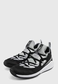 Tenis Lifestyle Negro-Gris-Blanco Nike Kids Future Court 2