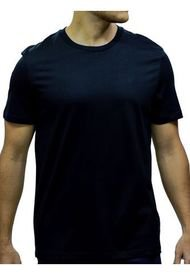 Camiseta Solid Edi Jersey Rib Trimmed T Calvin Klein