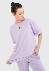 Camiseta Lila-Negro adidas Originals