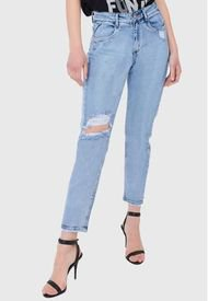 Jeans Mom Rotura Celeste Amalia Jeans