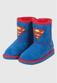 Bota Chiporro Niño Superman Azul DC Comics