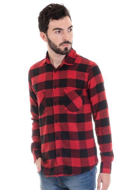 Camisa Konciny Flanela 33510 Xadrez
