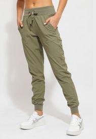 Pantalón Jogger Ellesse Lulu Verde - Calce Ajustado