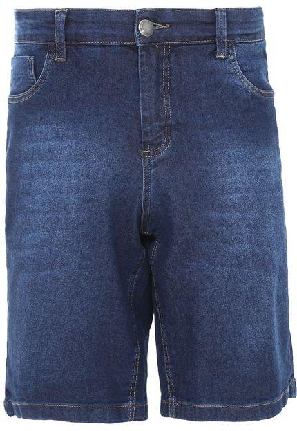 Bermuda Jeans New Era Reta Classic Azul
