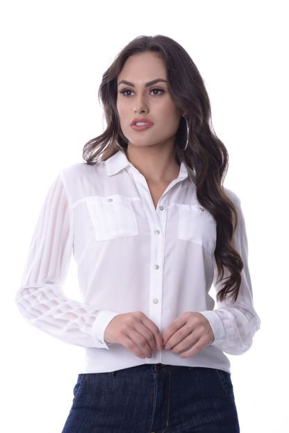 Love Poetry Camisa Love Poetry Offwhite