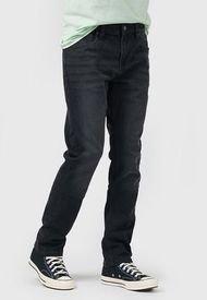 Jeans Lee Luke Negro - Calce Slim Fit