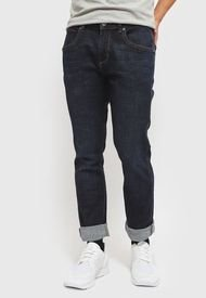Jeans Wrangler Greensboro Azul - Calce Slim Fit