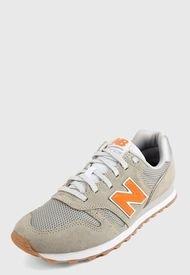 Tenis Lifestyle Gris-Naranja New Balance 373