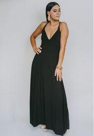 Vestido Zara Negro Natalia Seguel