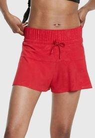 Short Desigual Técnico Olympi Rojo - Calce Regular