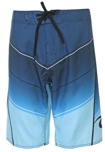 Bermuda Água Rip Curl Reta Mavericks 21 Azul